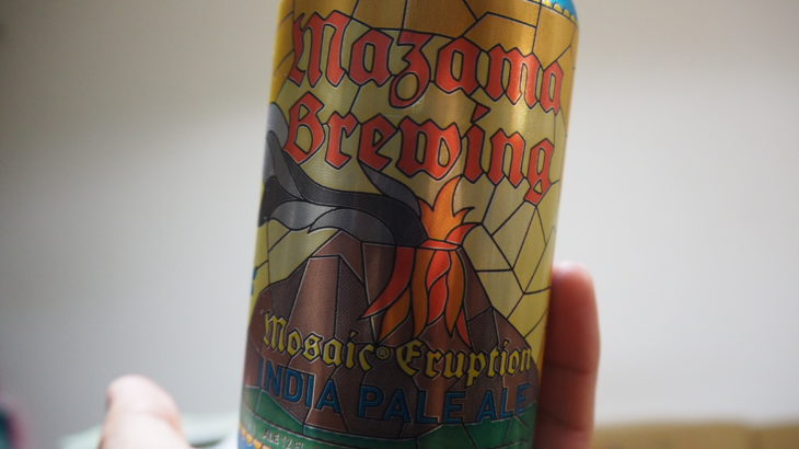 世界ビール旅/MAZAMA MOSAIC ERUPTION IPA#5