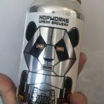 HUB ロボットパンダ ヘイジーIPA 6.2/355/世界ビール旅#26🇺🇸